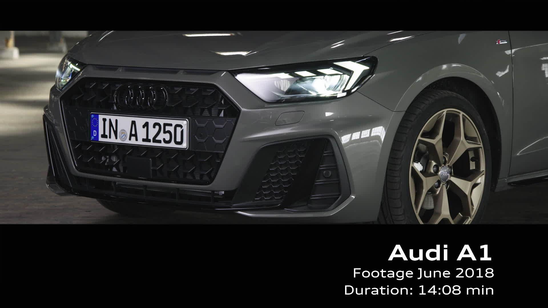 Audi A1 Sportback Footage