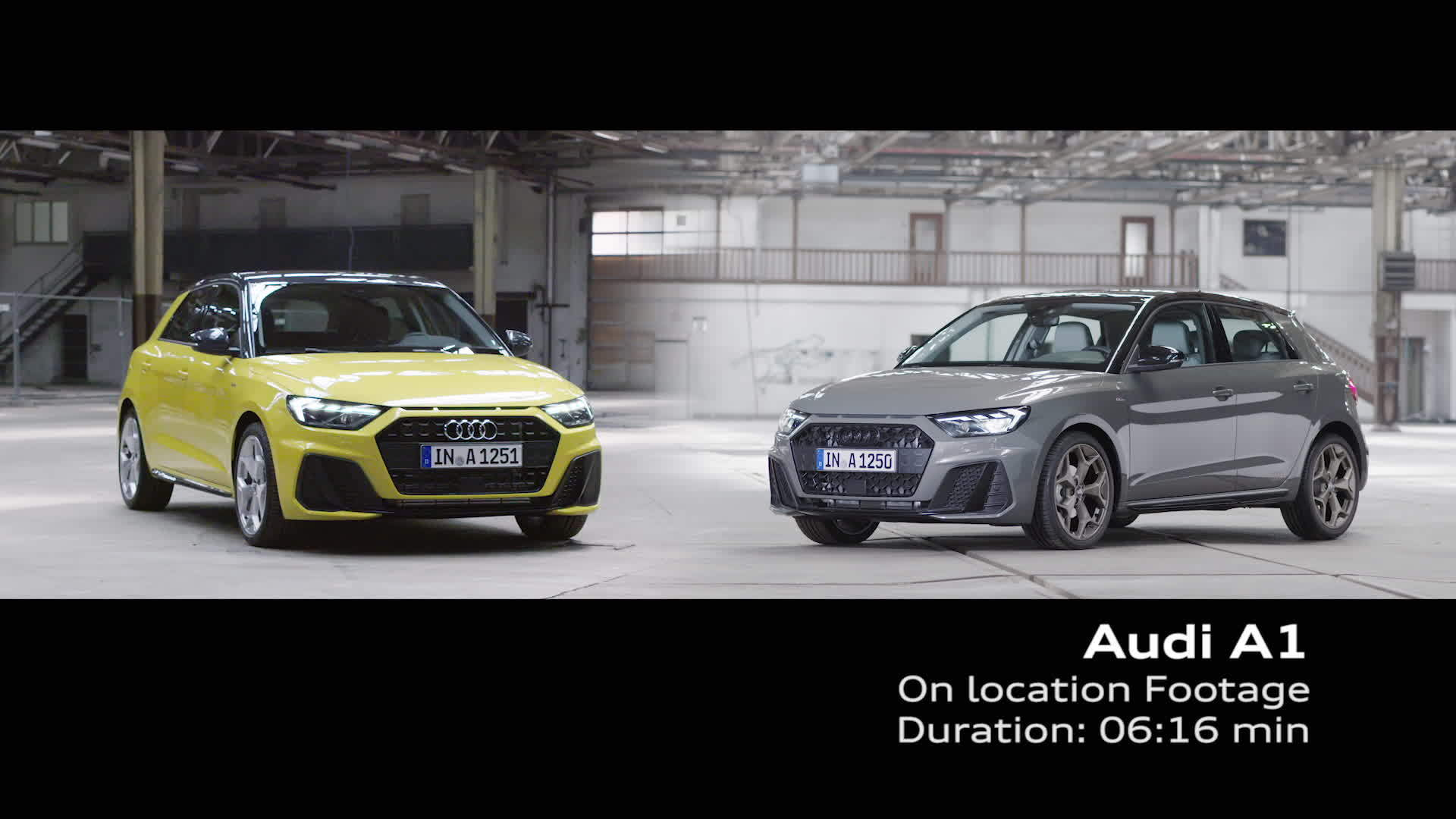 Audi A1 Sportback - On location Footage