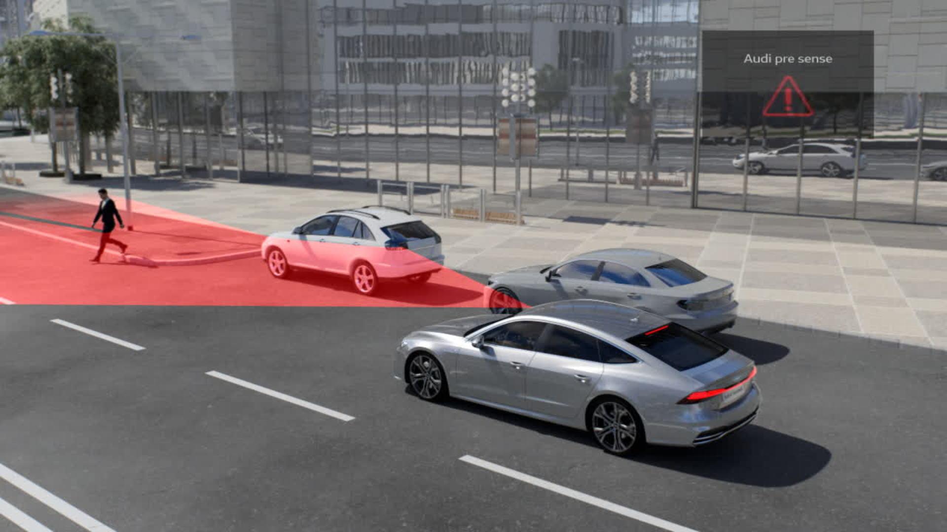 Audi A7 Animation pre sense