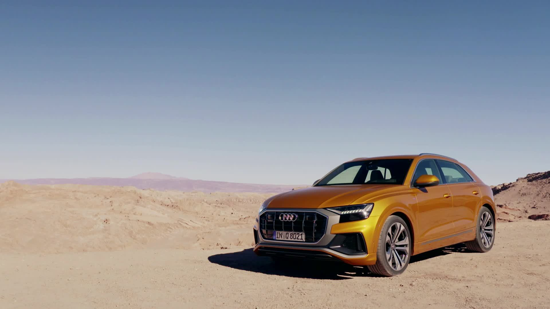 Audi Q8 Experience Drive in Chile