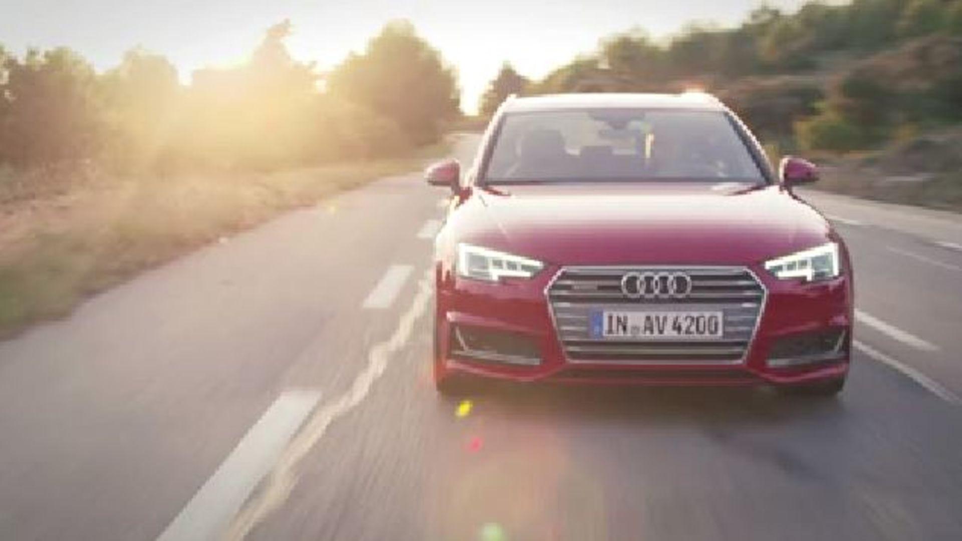Audi A4 Avant (2015) - Trailer
