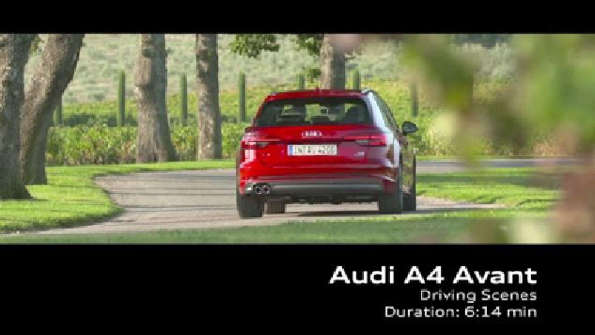 Audi A4 Avant (2015) - Footage Frankreich