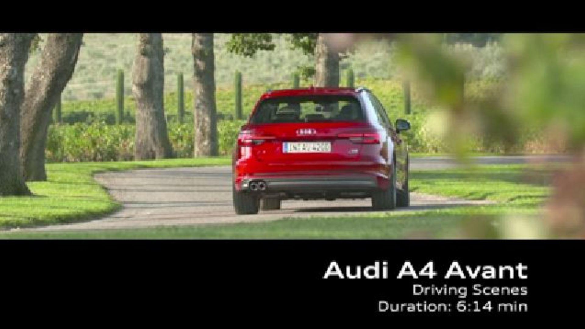 Audi A4 Avant (2015) - Footage France