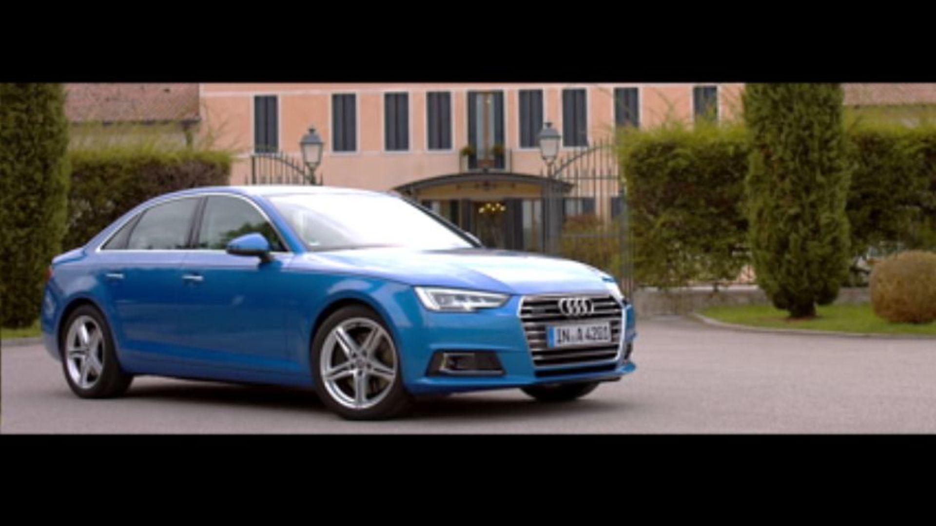 Audi A4 (2015) - Trailer Venedig
