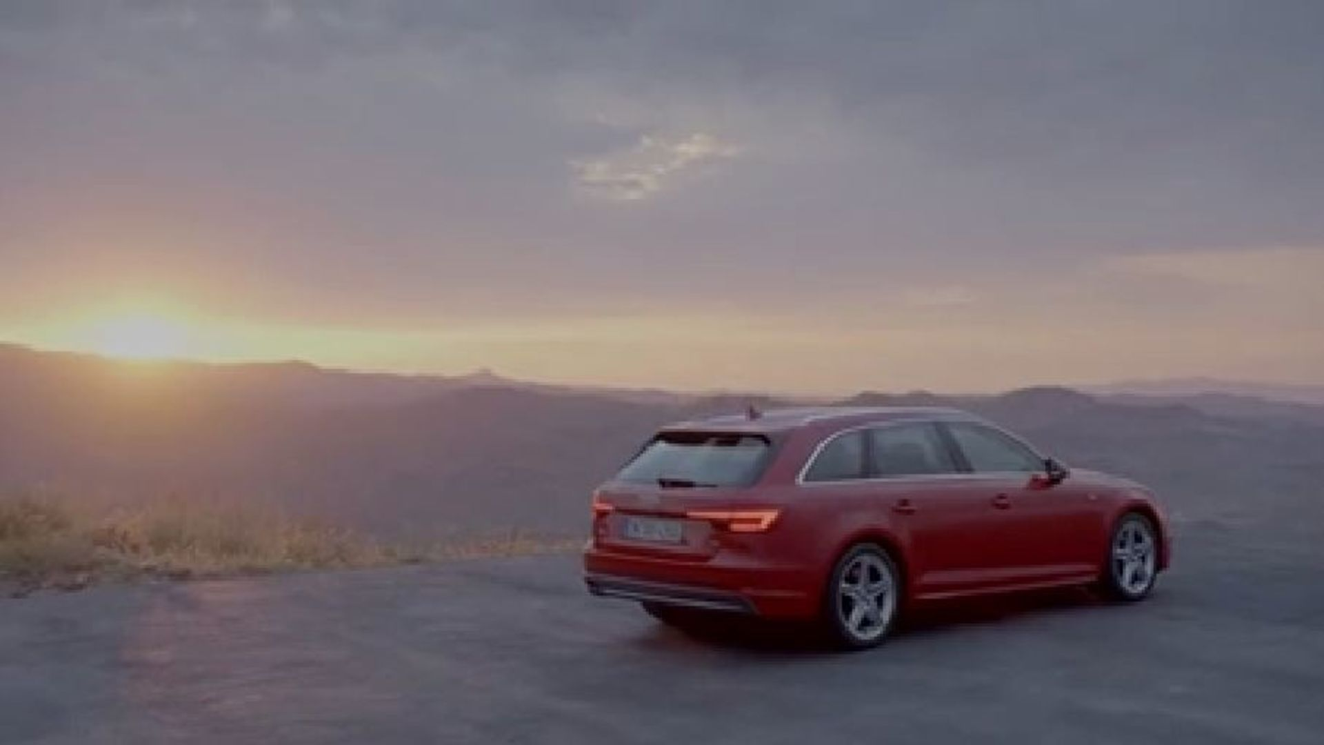 Audi A4 (2015) Emotion Trailer - Normal