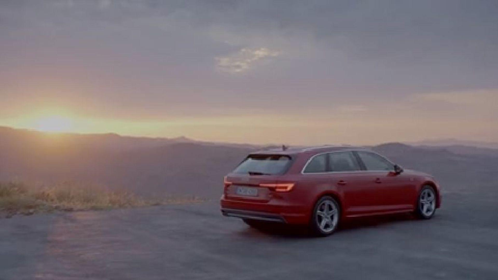 Audi A4 (2015) Emotion Trailer - Normal