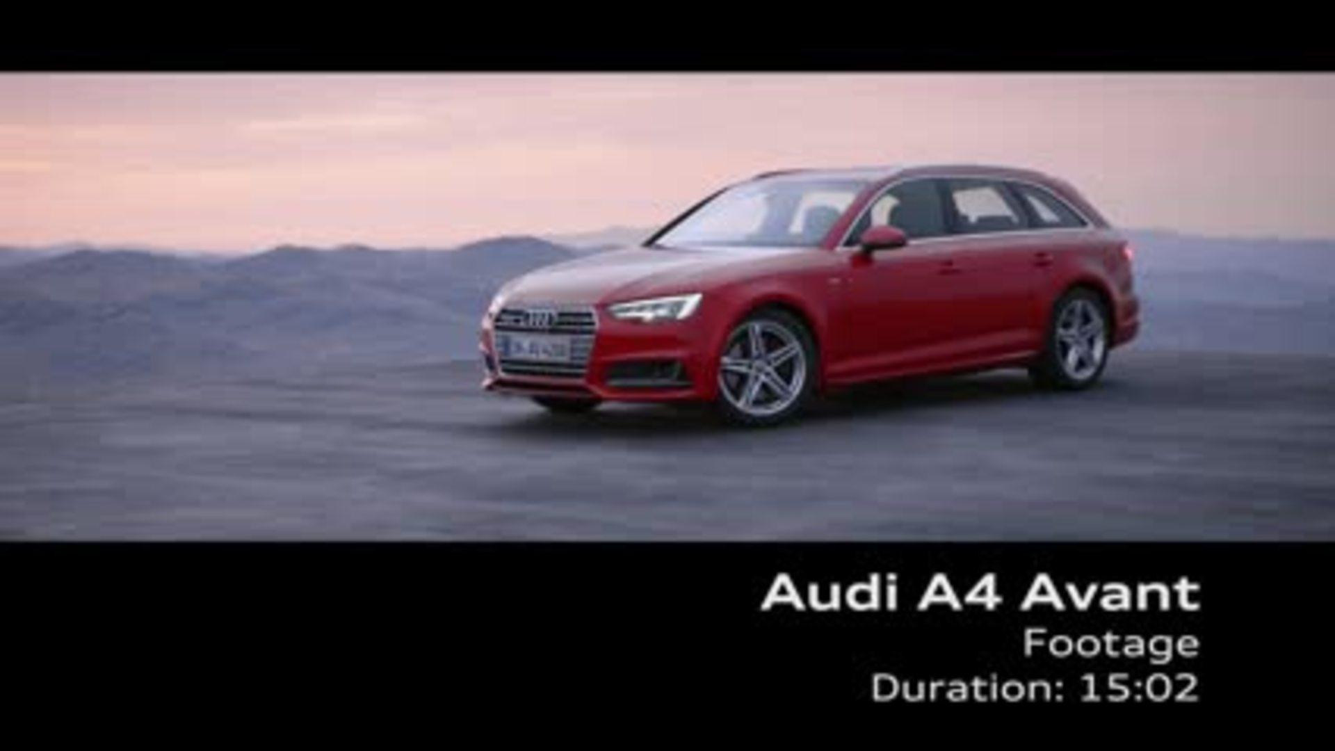 Der neue Audi A4 Avant (2015) - Footage
