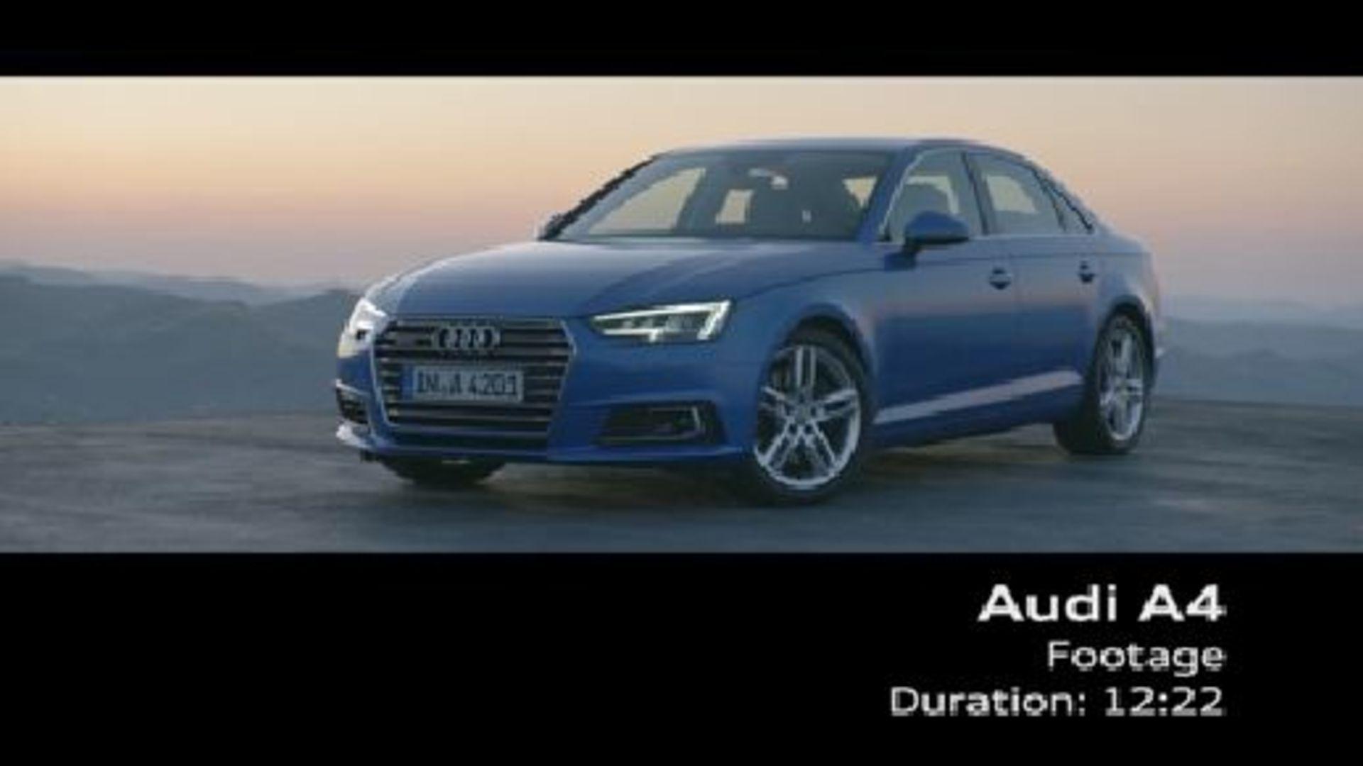 The new Audi A4 Sedan (2015) - Footage