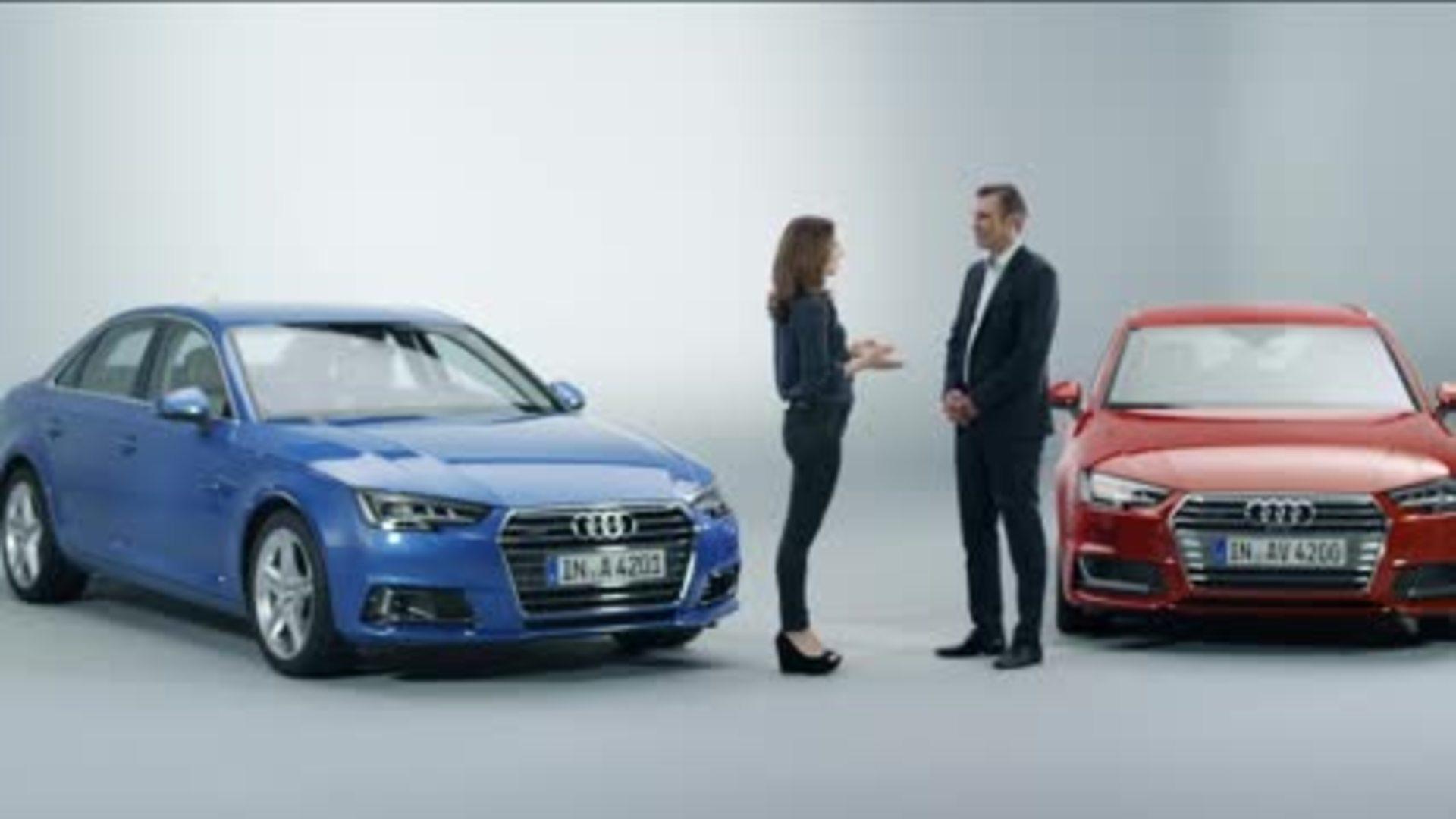 Die exklusive Weltpremiere des neuen Audi A4 (2015)