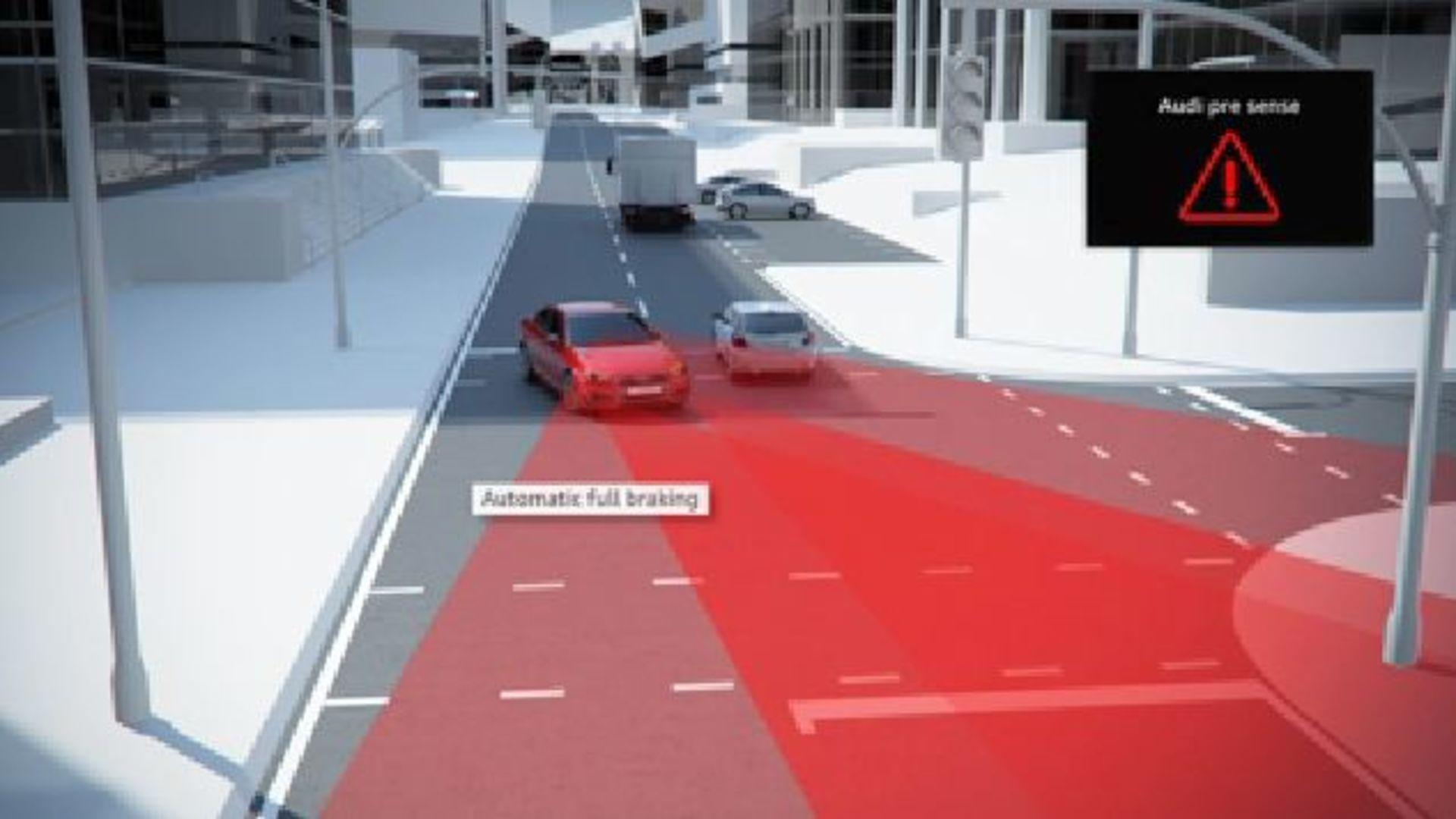 Audi A4 (2015) - Animation turn assist