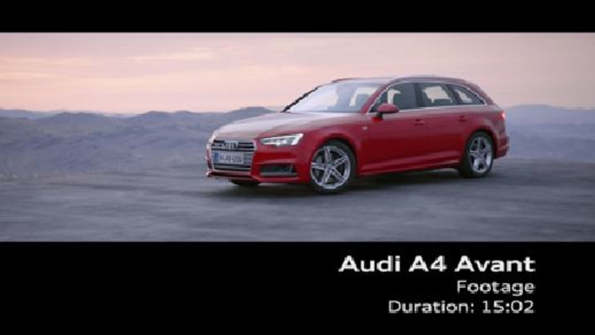 The new Audi A4 Avant (2015) - Footage