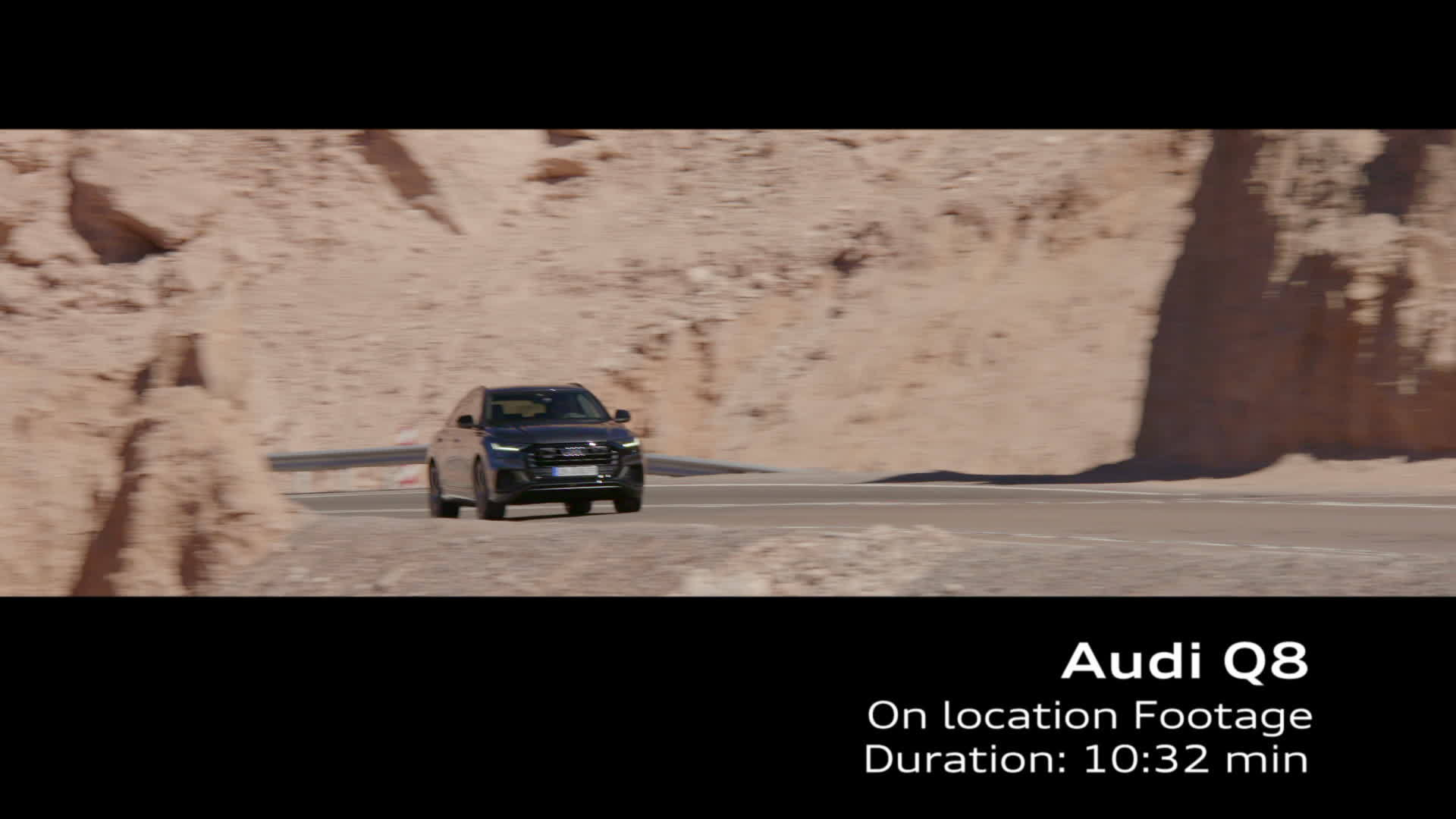Audi Q8 Footage Chile Daytonagrau