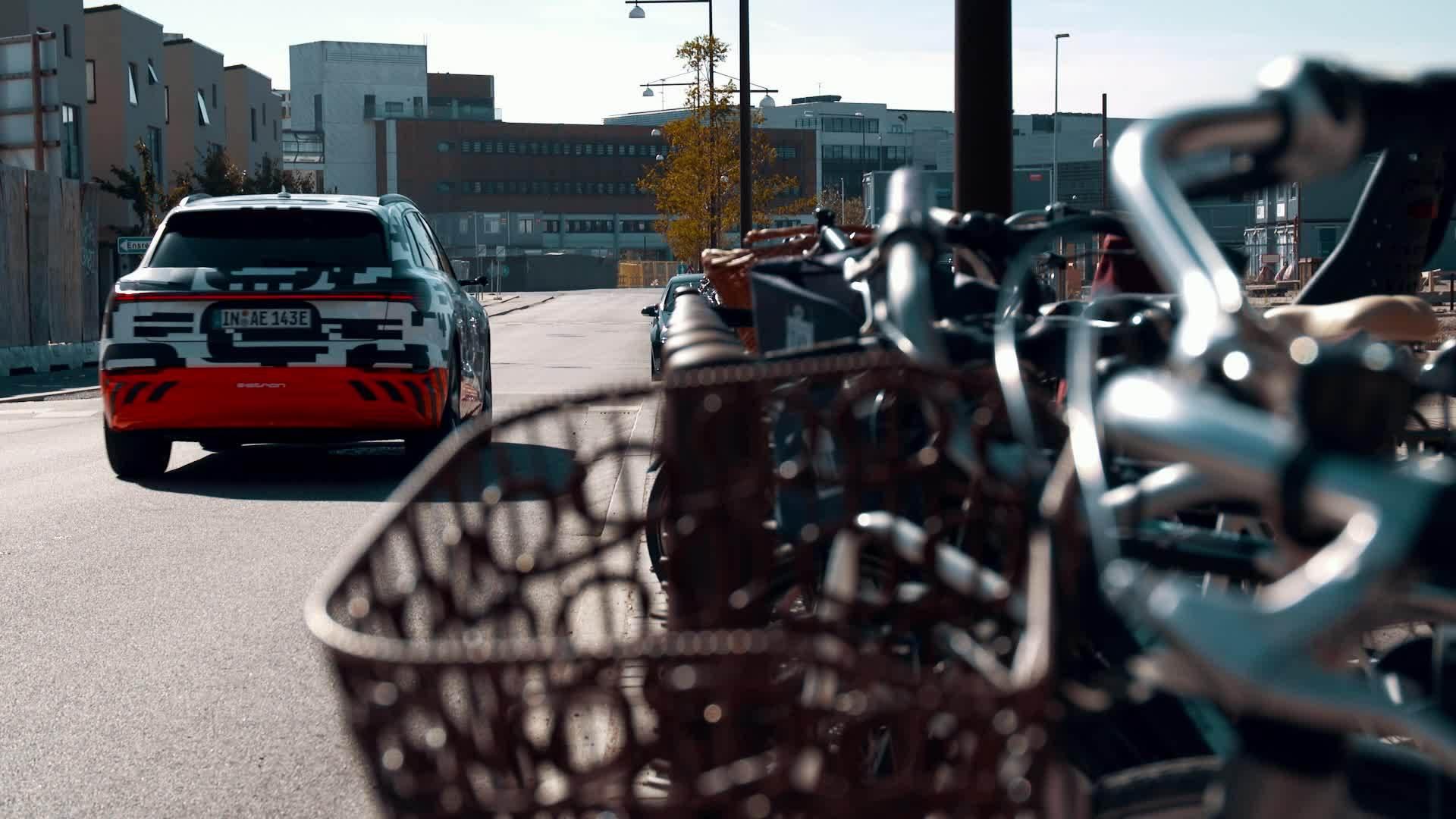 Audi e-tron prototype: sound of Copenhagen