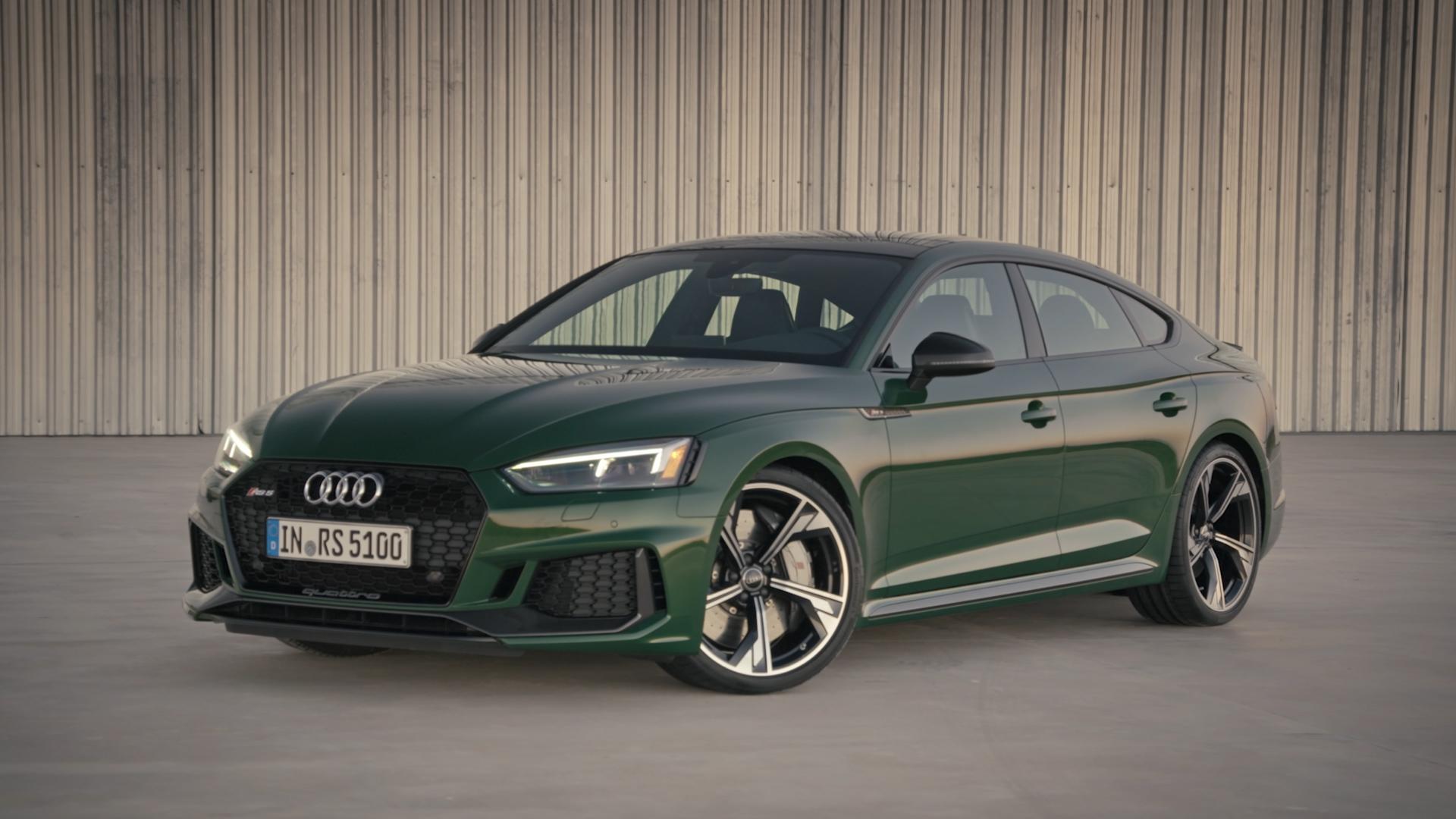 Optimum performance: the new Audi RS 5 Sportback