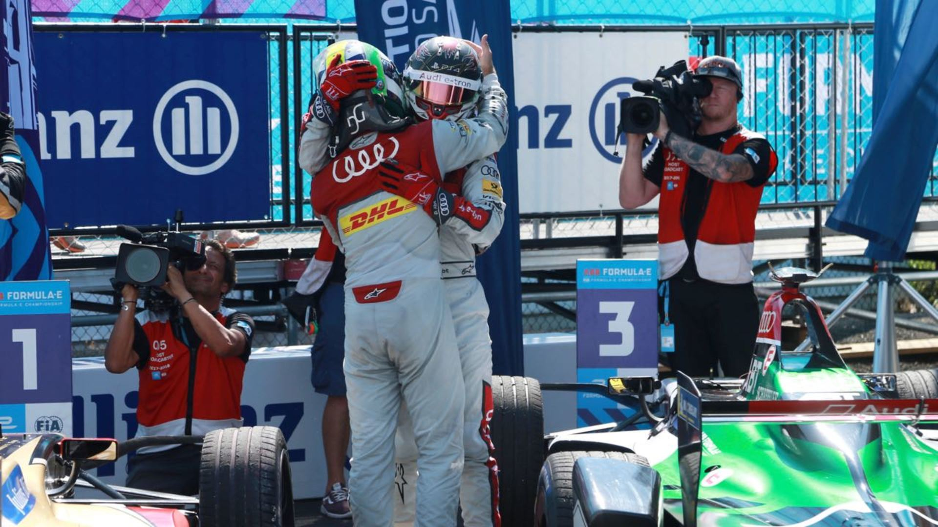 Formel E: Audi Sport ABT Schaeffler ist Formel-E-Champion