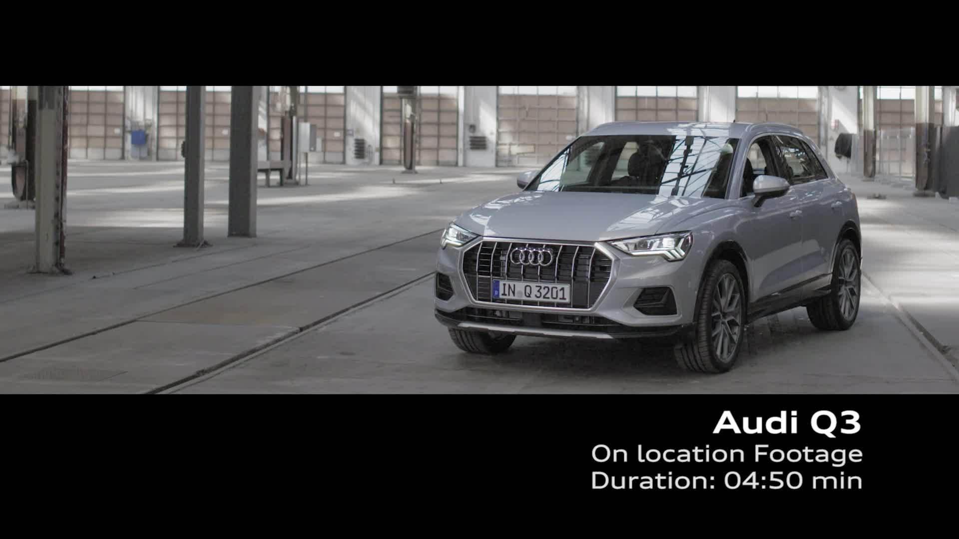 Audi Q3 2018 Footage Stills