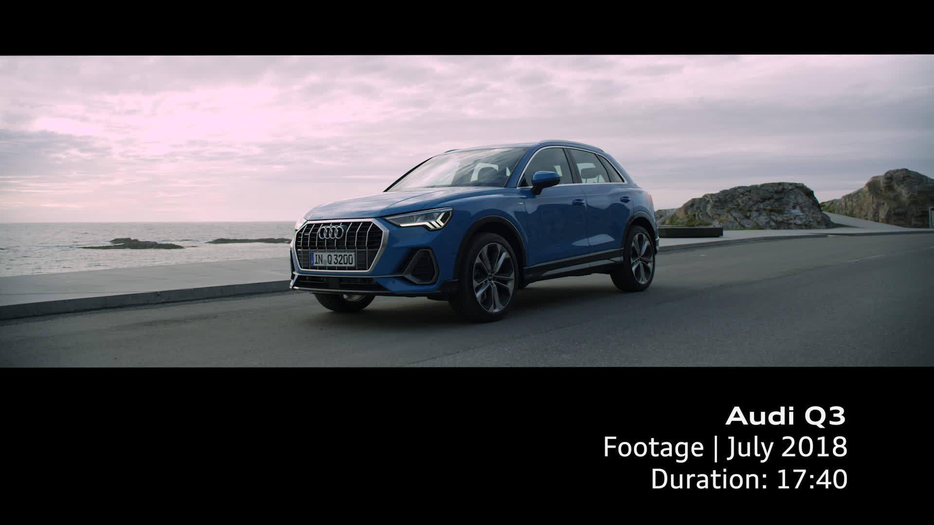 Audi Q3 Footage 2018