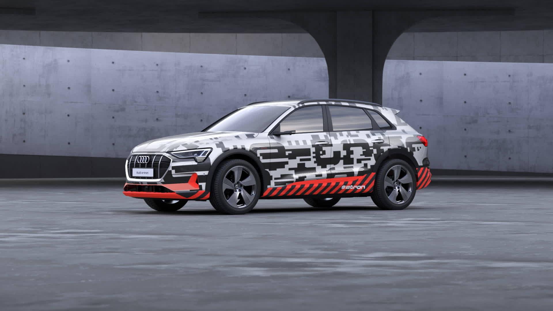 Audi e-tron Prototyp 3D Sound Animation