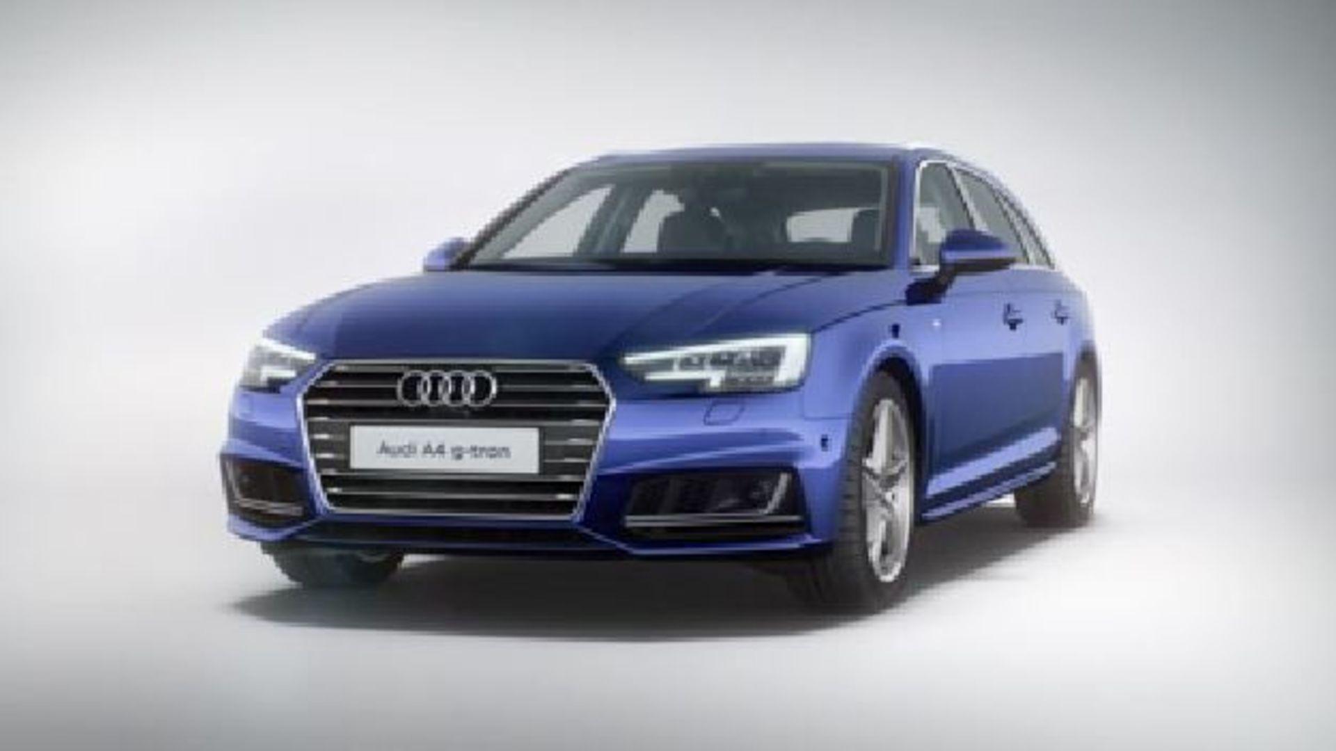 Audi A4 Avant g-tron (2015) Animation
