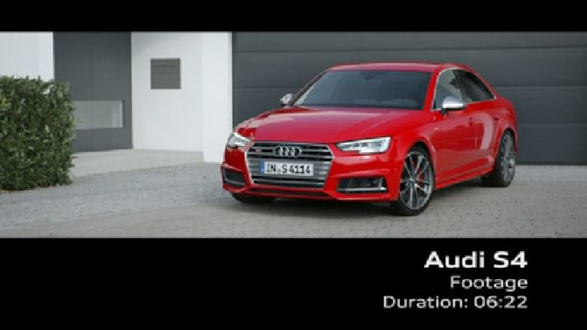 Audi S4 (2016) – Footage