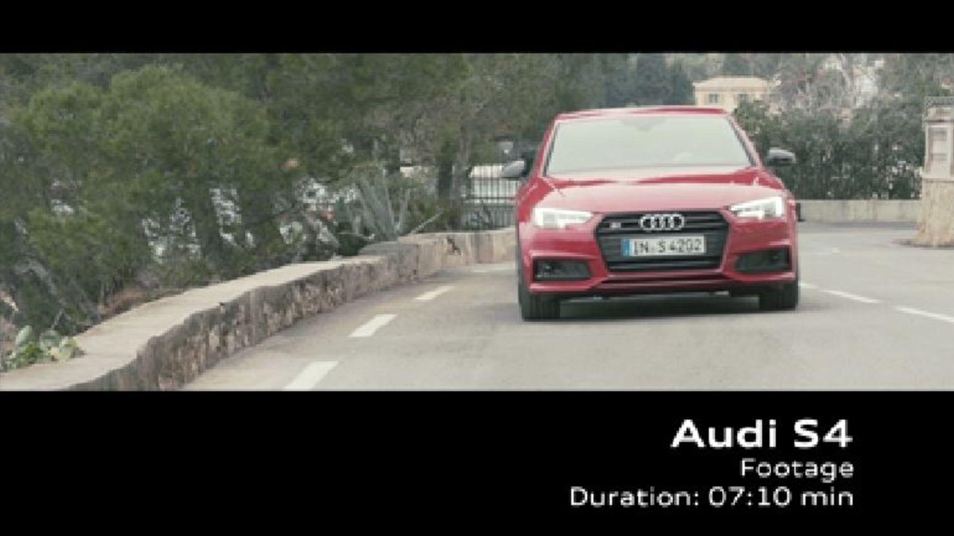 Audi S4 Limousine (2016) – Footage