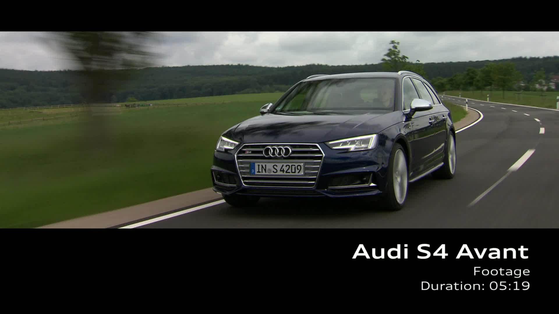 Audi S4 Avant (2016) – Footage on Location