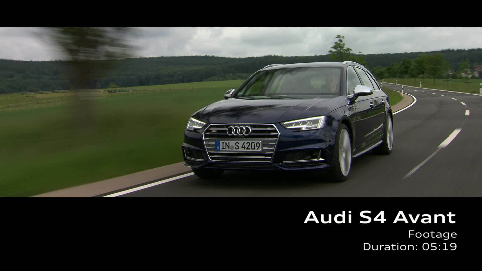 Audi S4 Avant (2016) – Footage on Location