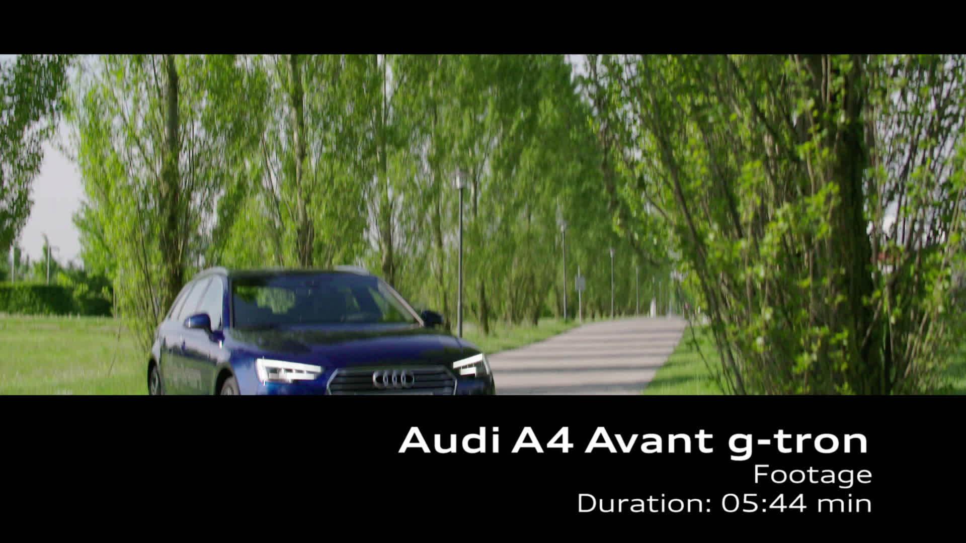Audi A4 Avant g-tron (2017) – Footage TechDay
