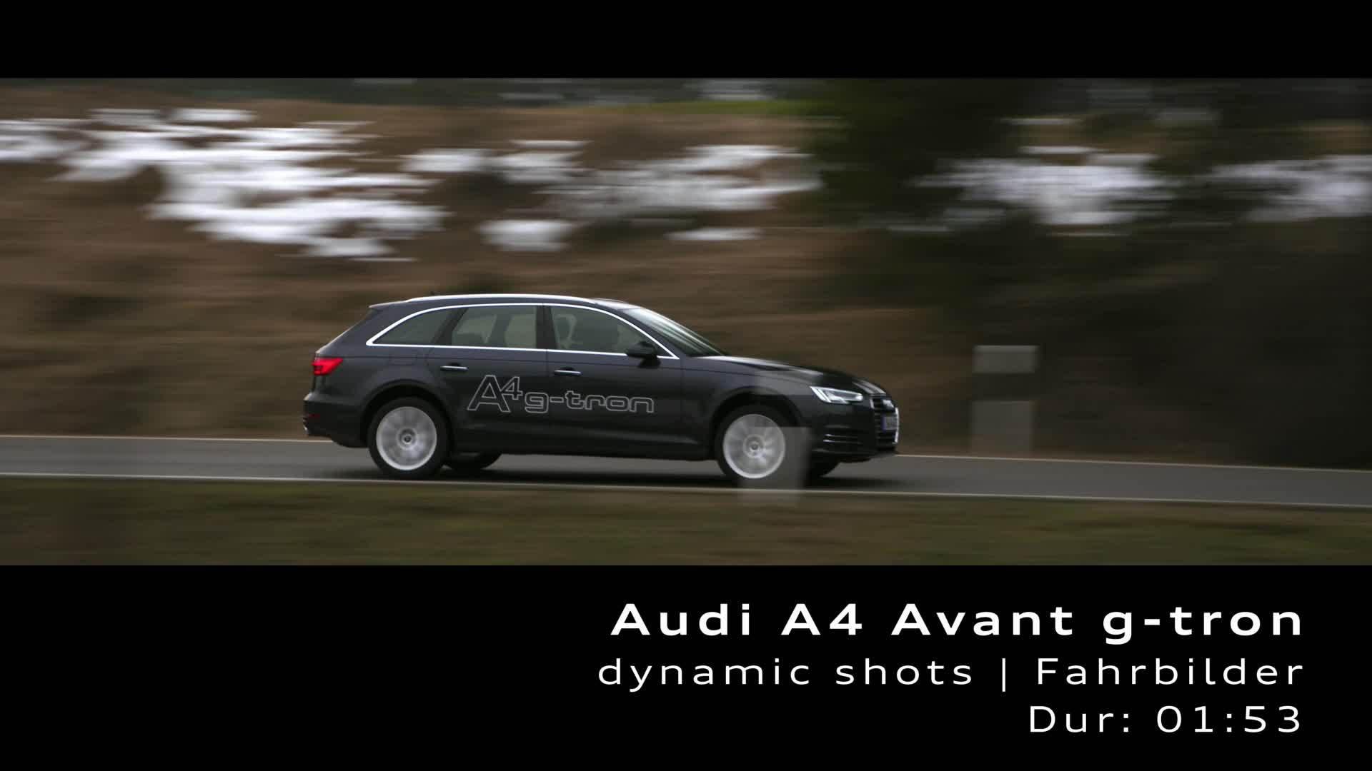 Audi A4 Avant g-tron (2017) – Footage