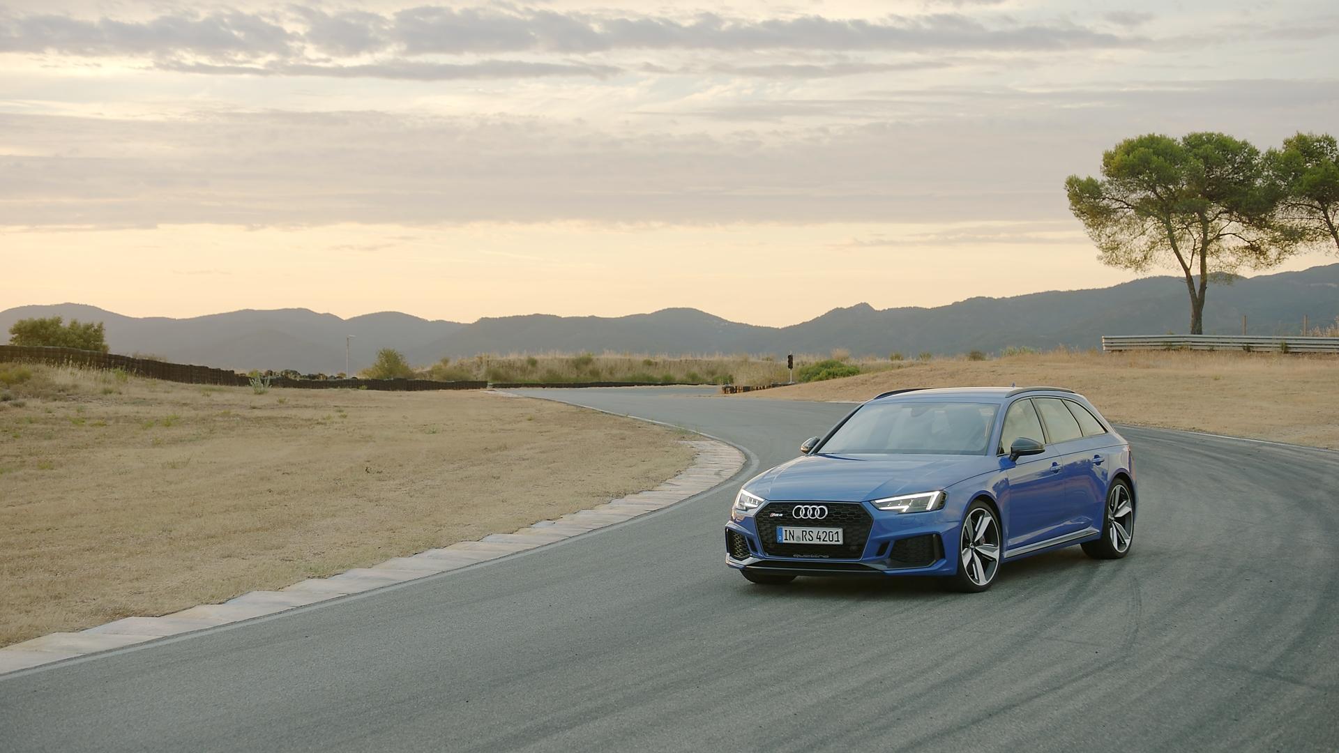 Footage Audi RS 4 Avant (2017)