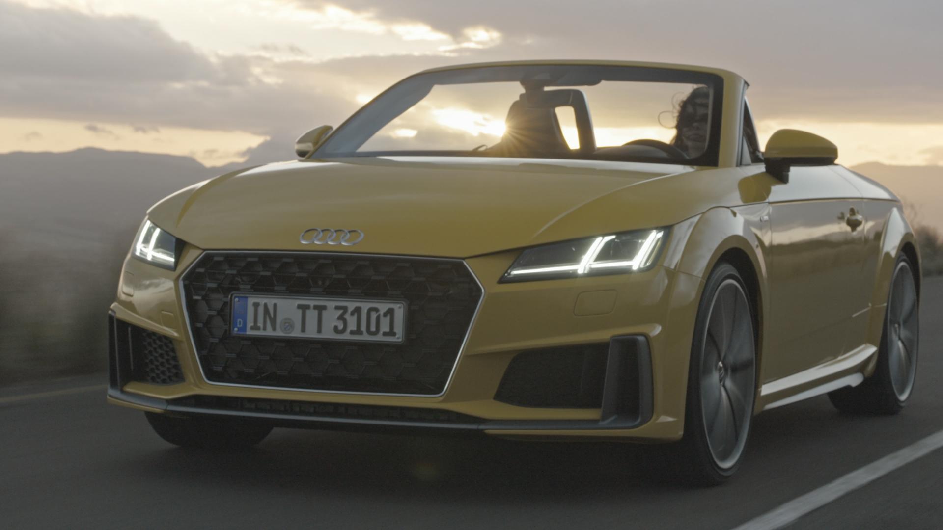 Audi TT Roadster – maskuliner, progressiver, sportiver