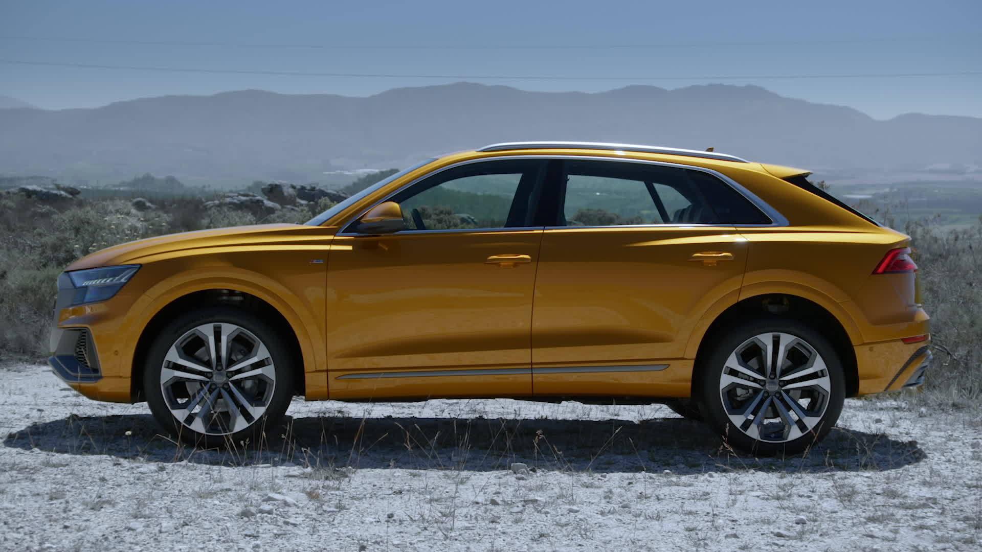 Das neue Gesicht der Q-Familie: der Audi Q8