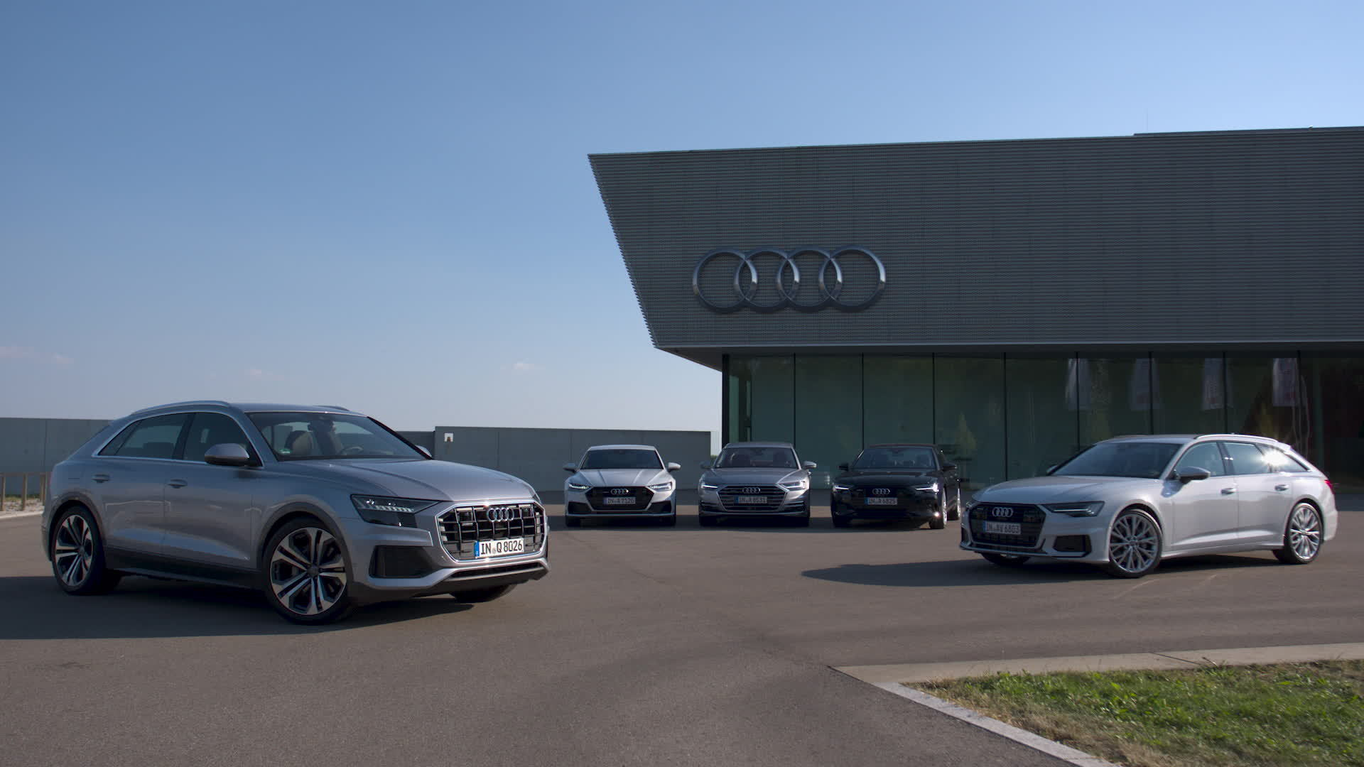The new Audi full-size class