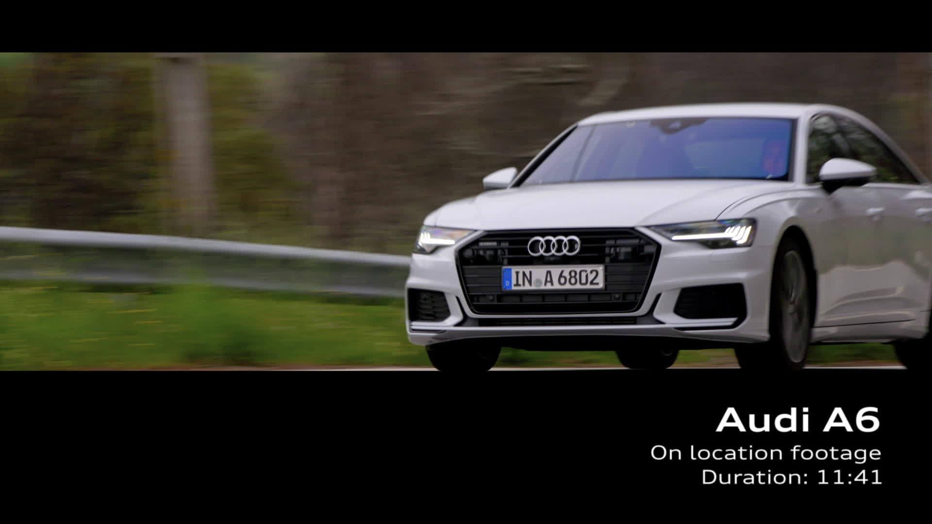 Audi A6 Footage Suzukagrau