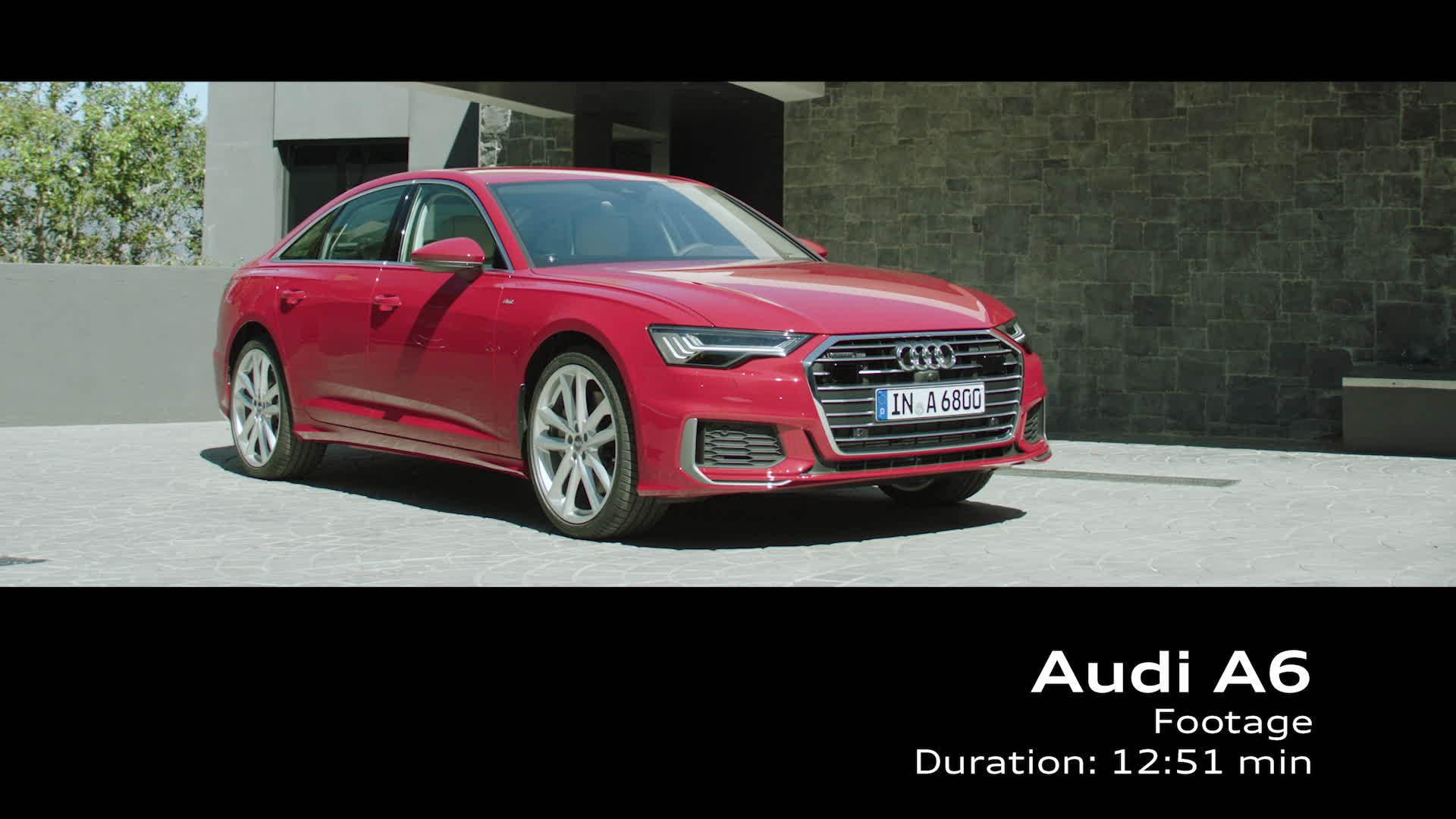 Footage Audi A6 Limousine