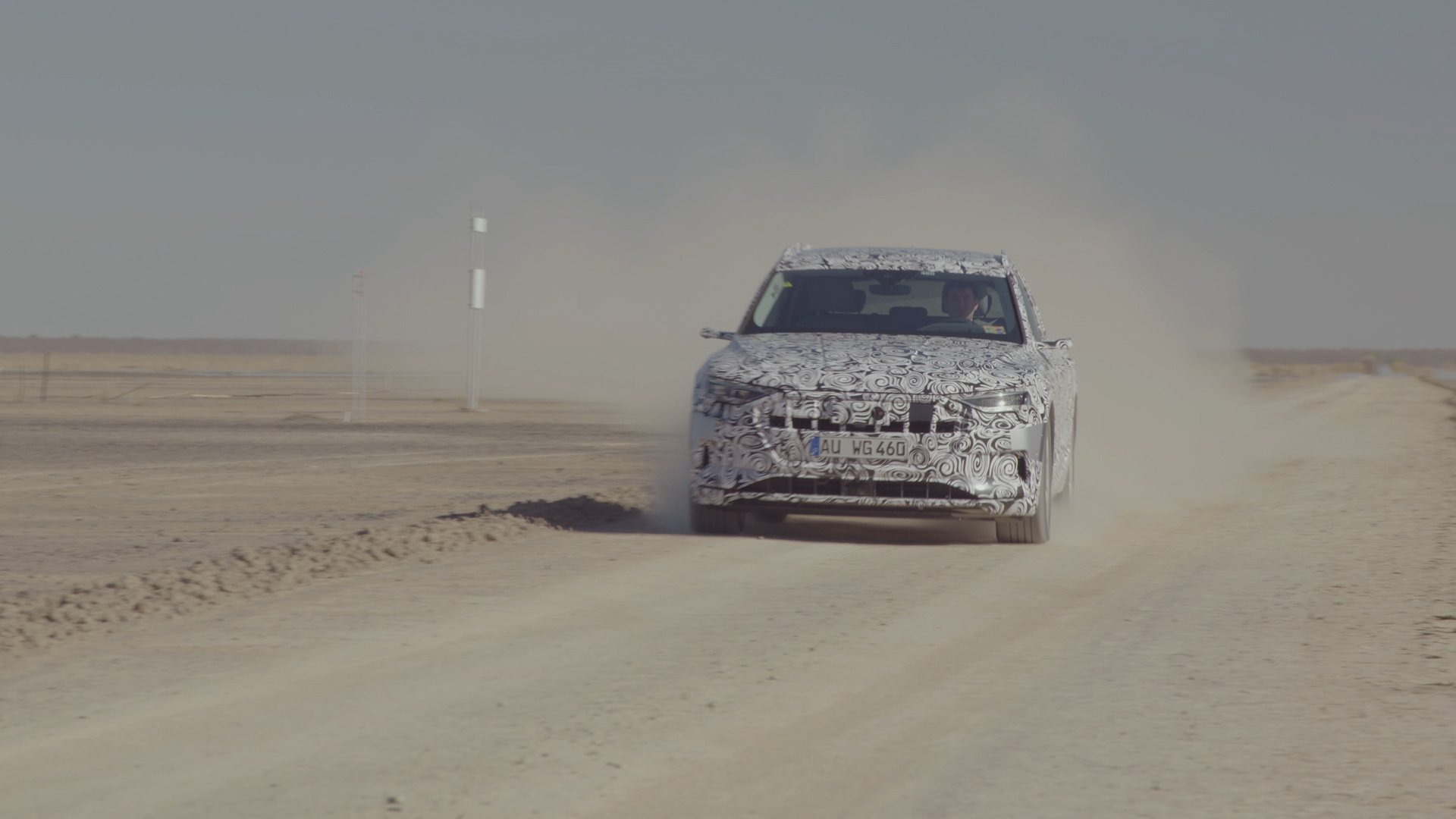 Audi e-tron-Prototyp – Hitzetest in Südafrika