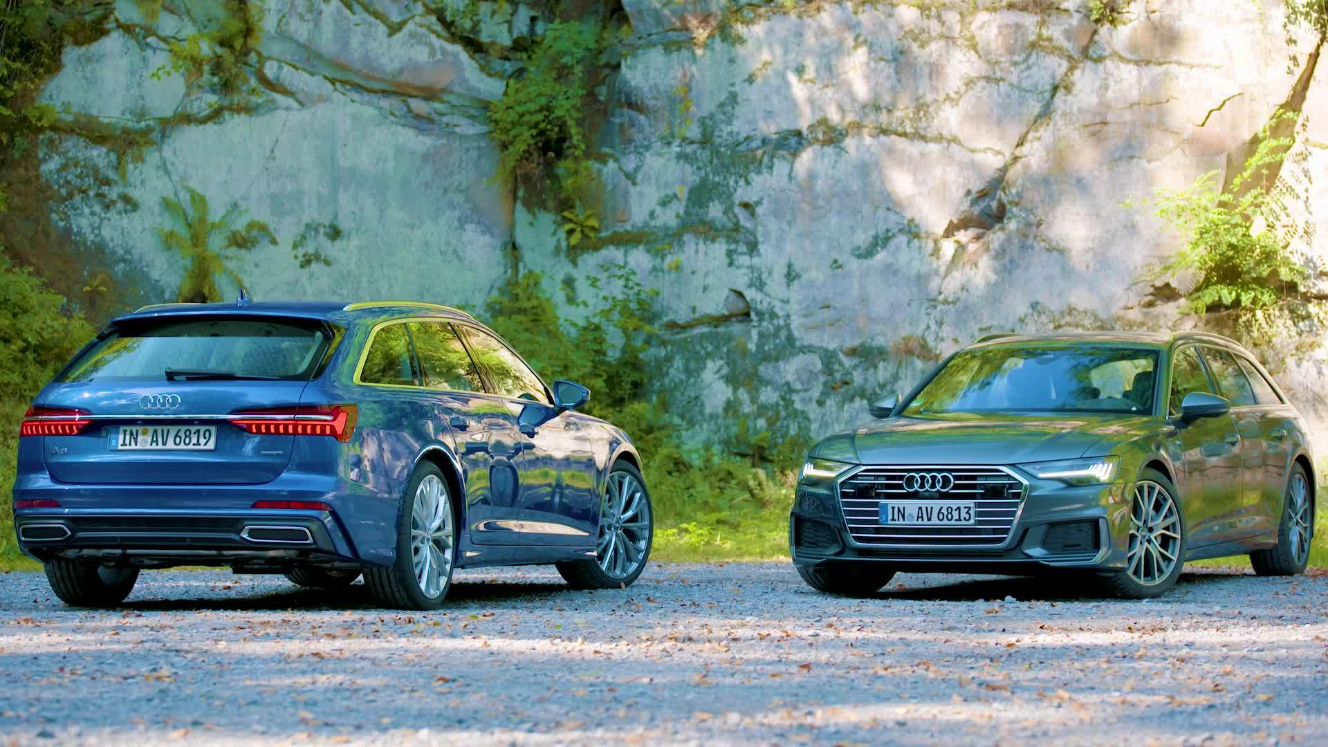 Practical. Beautiful. Sporty. The new Audi A6 Avant