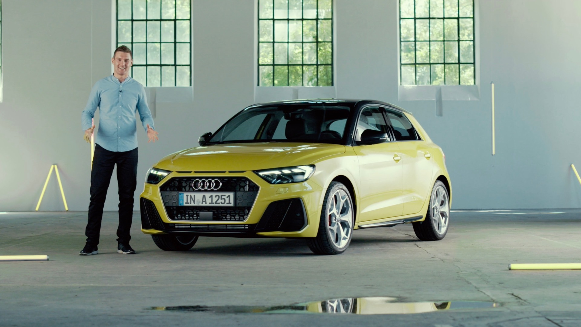 The Audi A1 Sportback in detail