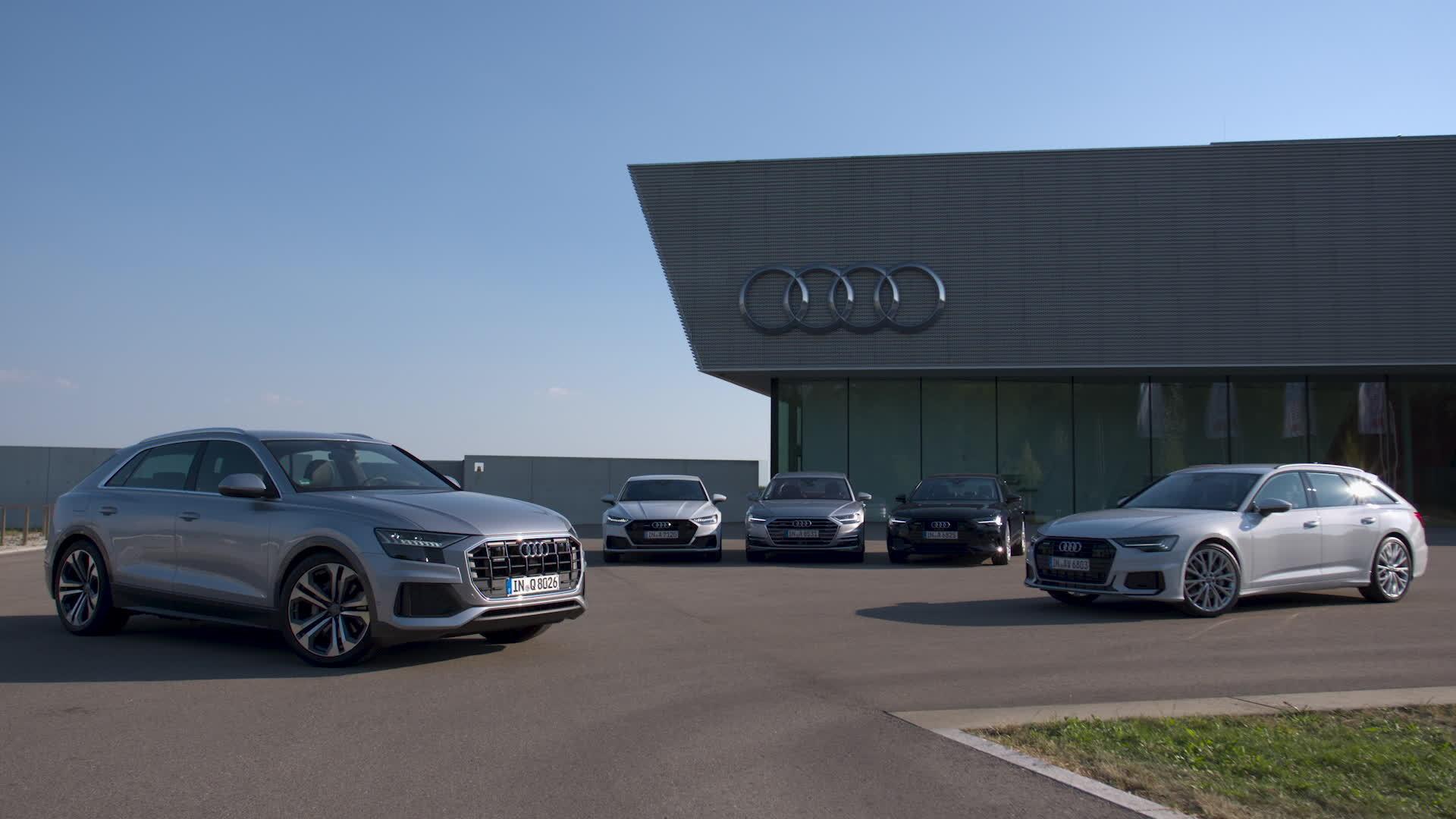 Die neue Audi Oberklasse