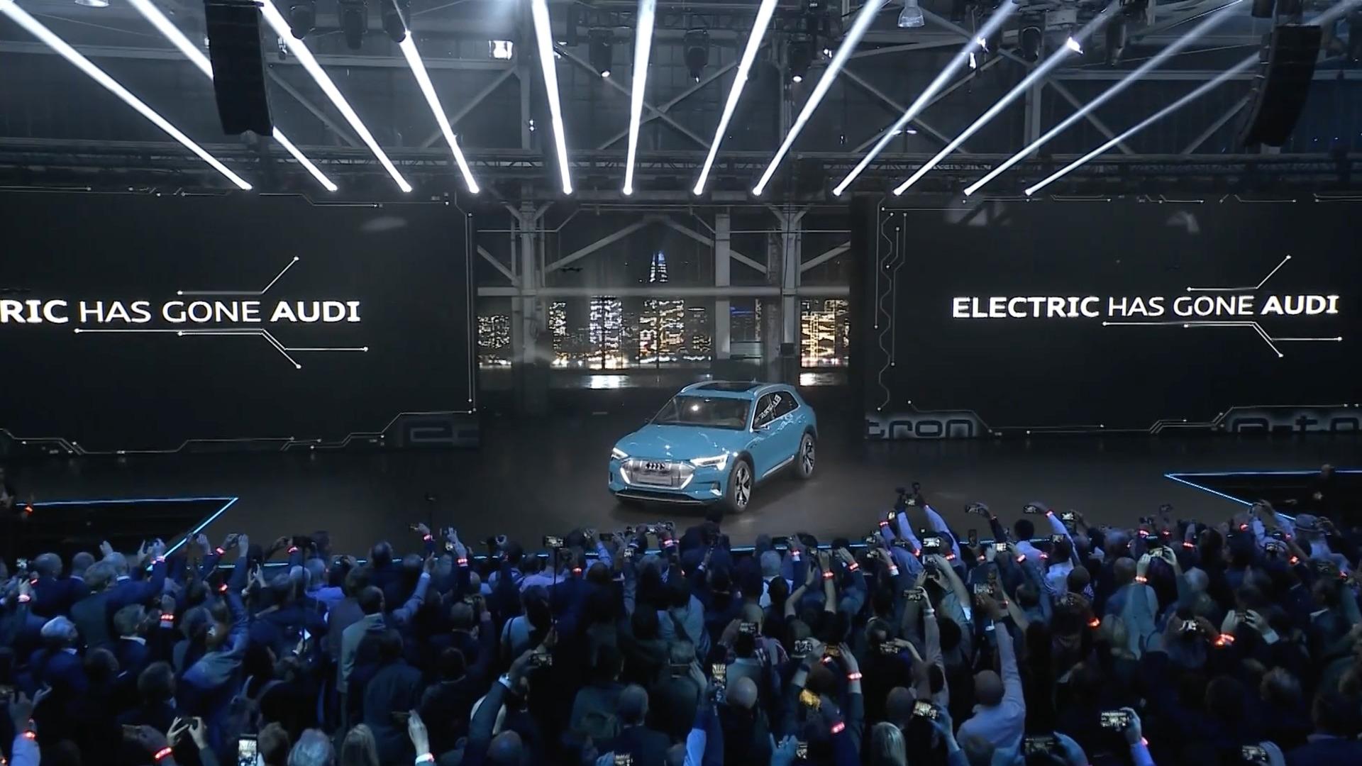 Die Weltpremiere des Audi e-tron: Highlights