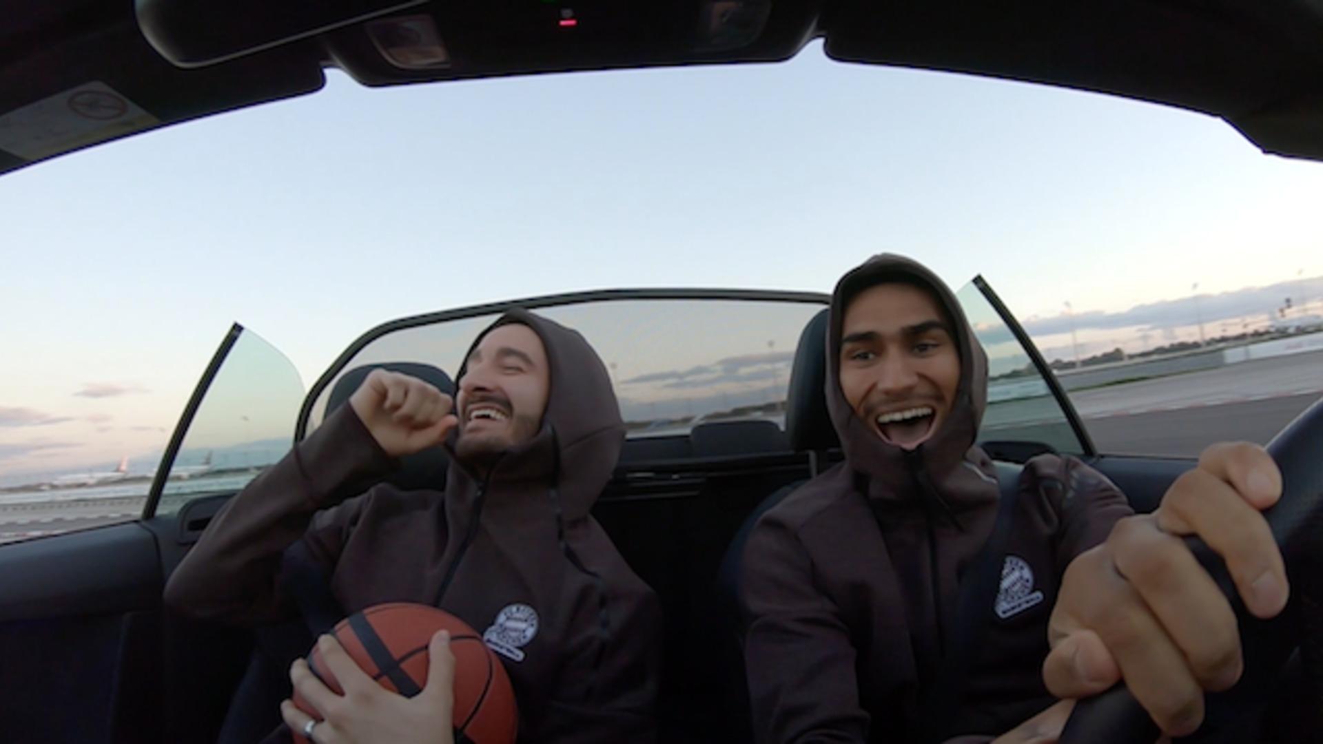 Neue Audi-Dienstwagen von Audi für die Basketballer des FC Bayern München