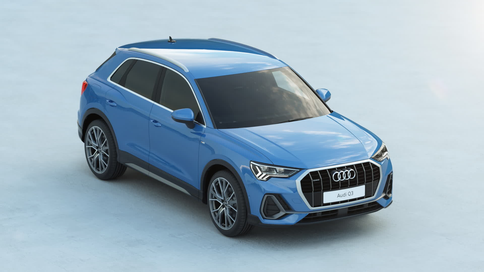 Audi Q3 Exterieurdesign (Animation)