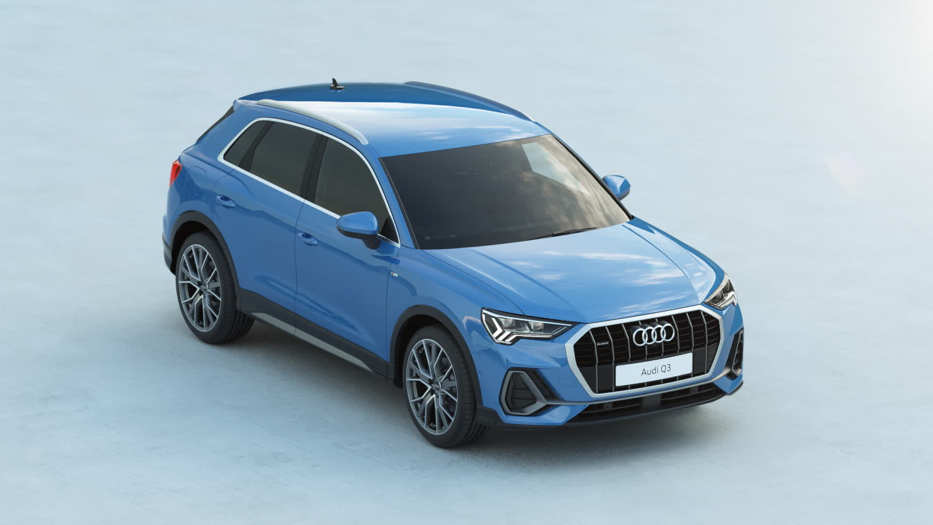 Audi Q3 exterior design (Animation)
