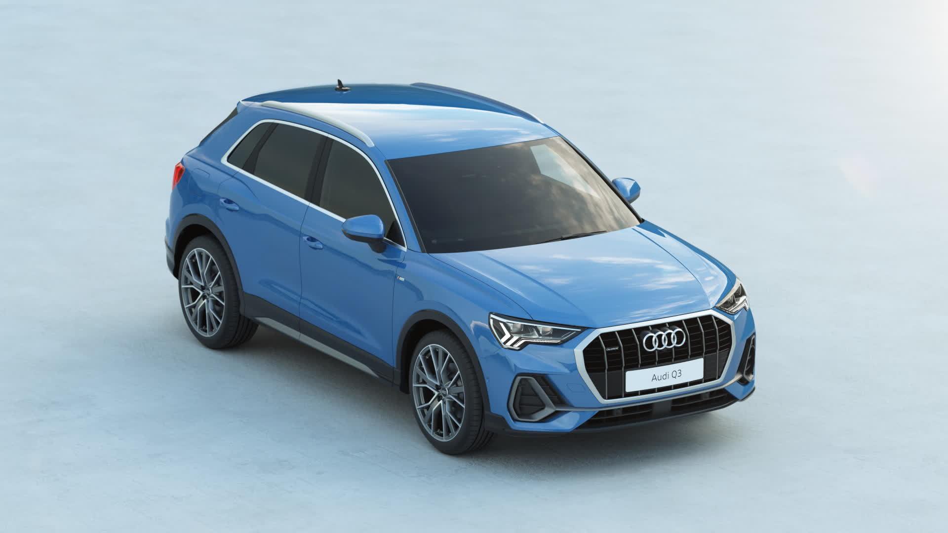 Audi Q3 exterior design (Animation)