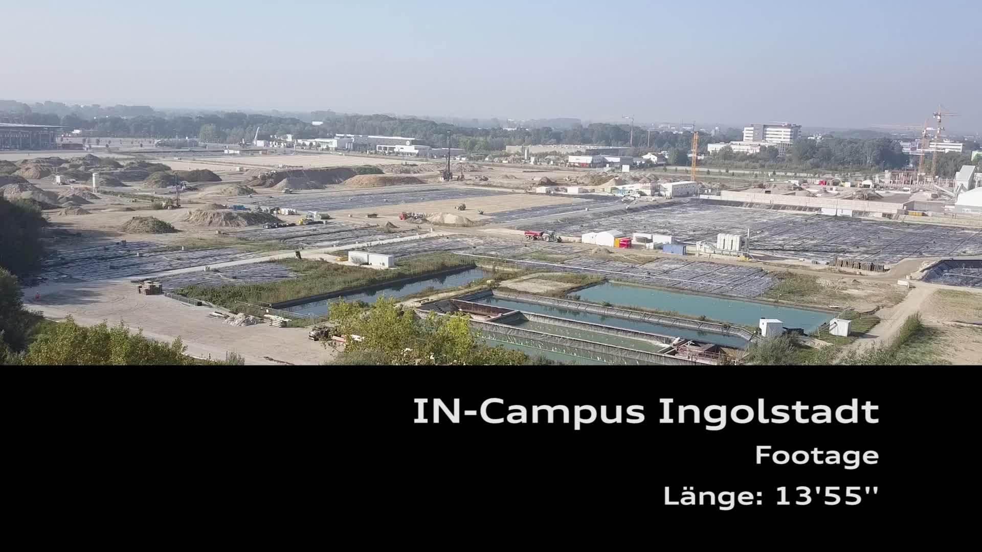Sanierung des IN-Campus-Geländes (Footage)