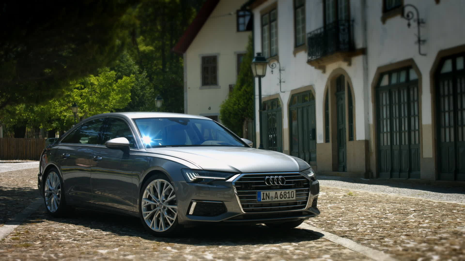 Audi A6 Sedan on Location