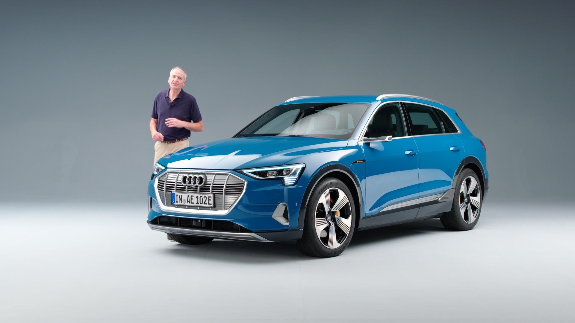 Vorstellung des Audi e-tron