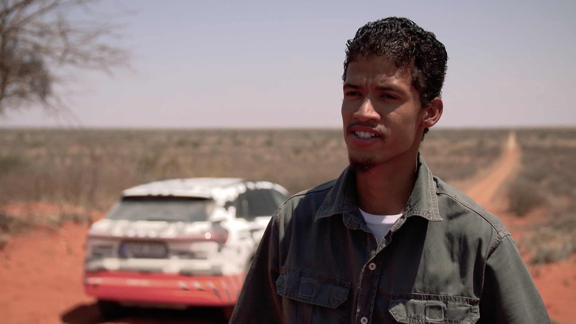 Audi e-tron Safari-Test in Namibia