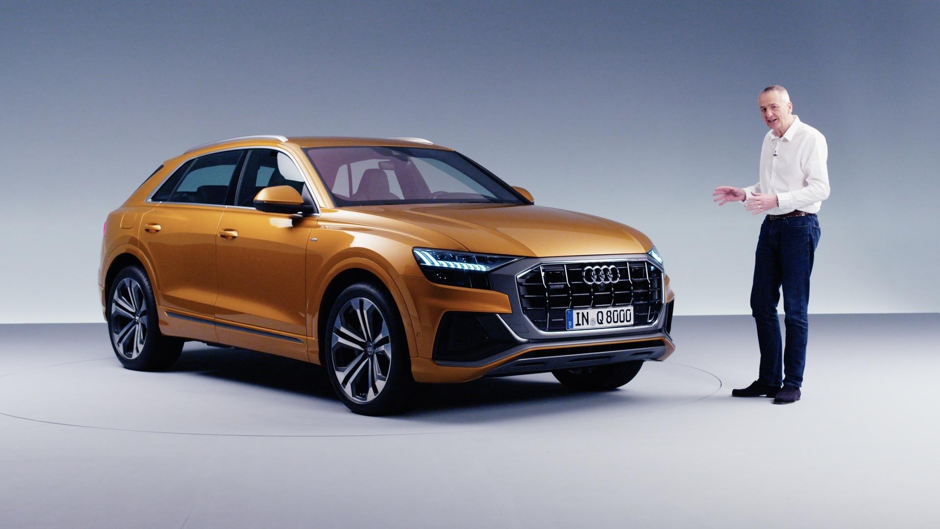 Audi Q8: first look