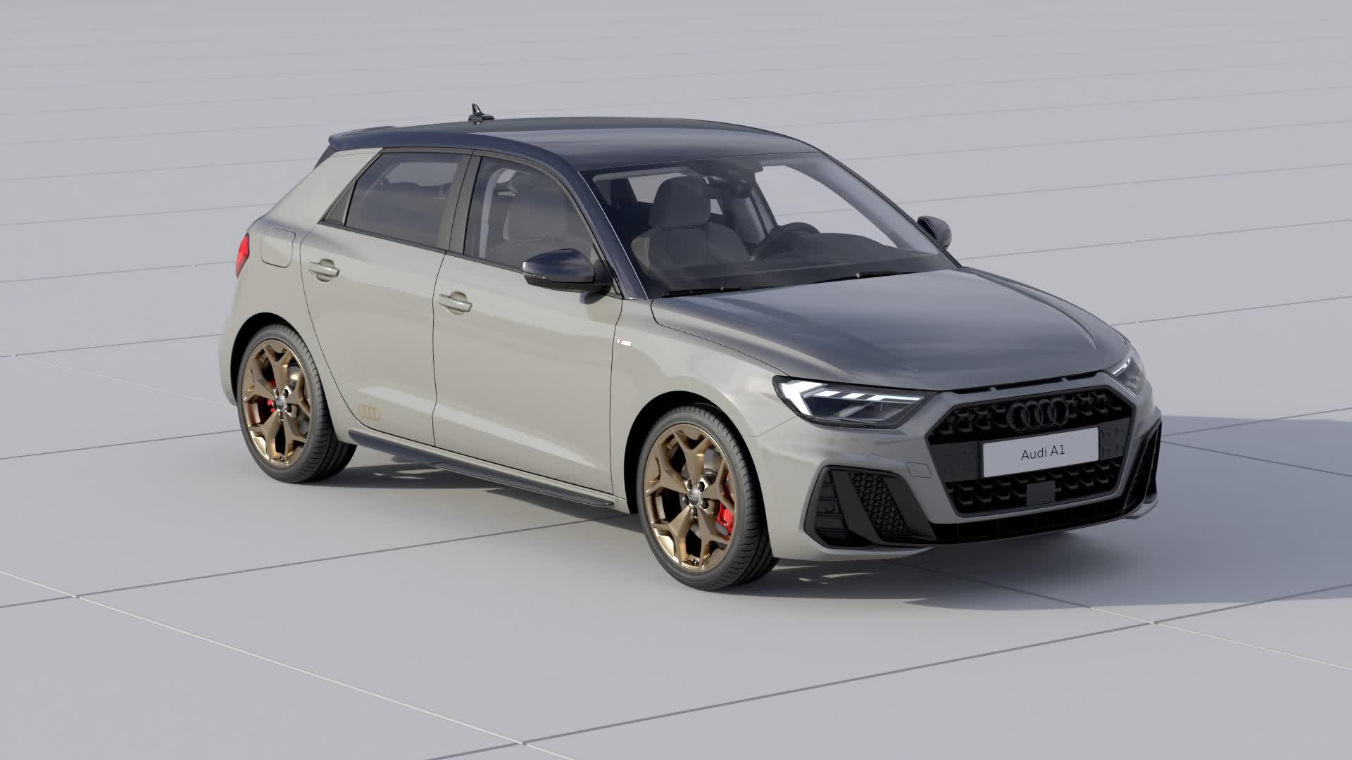 Audi A1 Sportback exterior design (Animation)